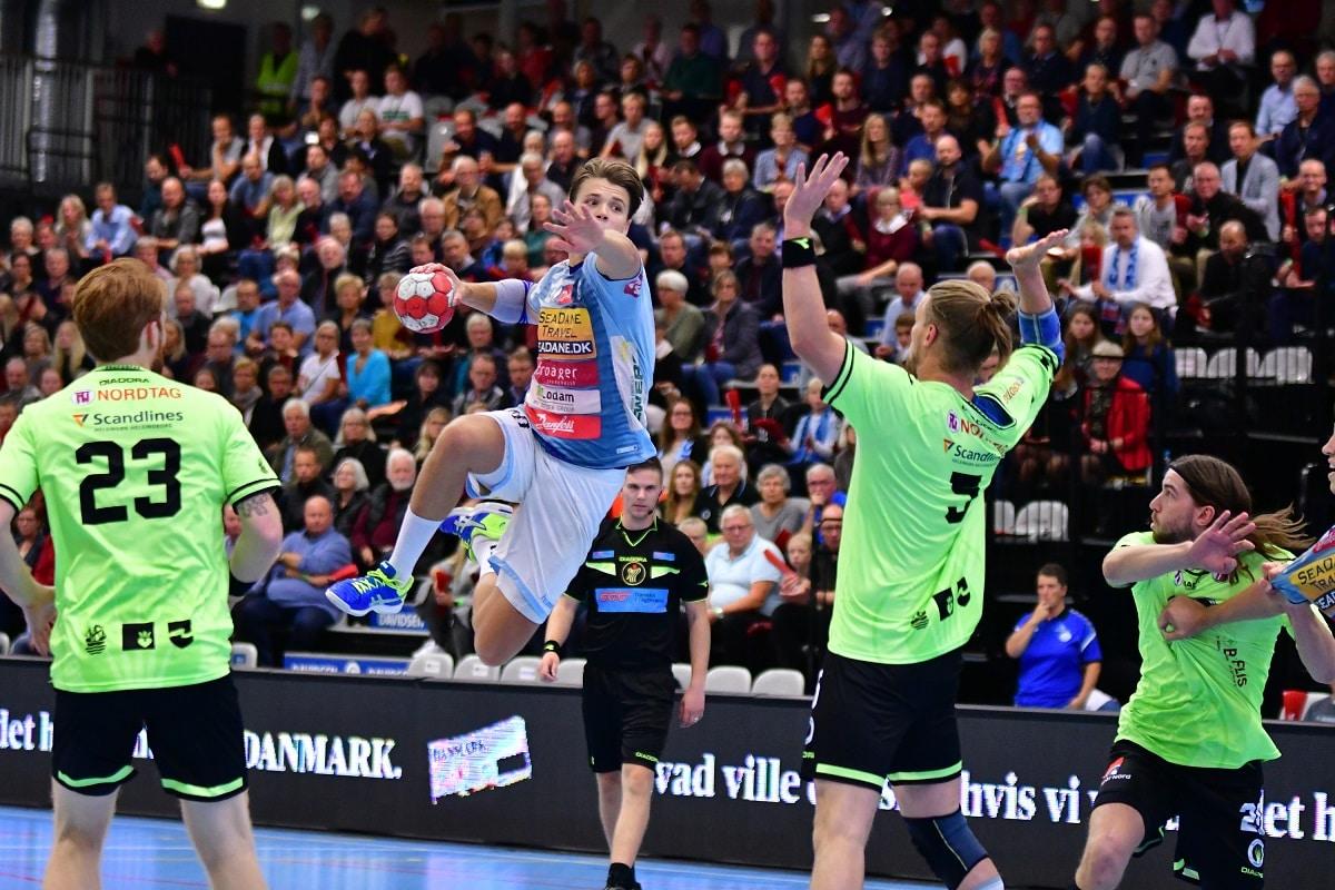 Soenderjyske Vs Nordsjaelland Handbold Handball Herre Handbold